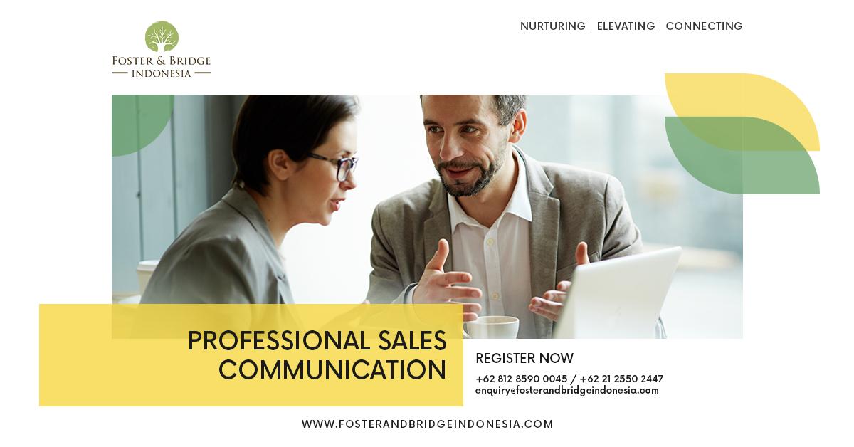 """Professional-Sales-Communication-Online-Training"""